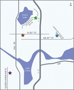 Seattle Veterinary Associates Map